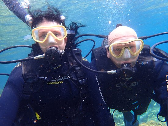 The Waterhoppers Diving School: Diving