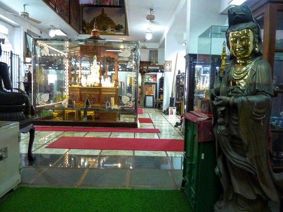 Βουδιστικός Ναός Γκανγκαραμάγια (Βιχάρα) Φωτογραφία