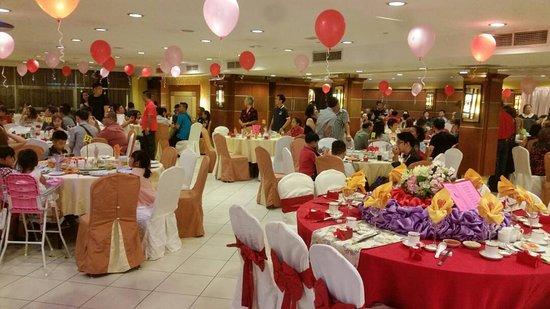 Penampang, มาเลเซีย: Wedding dinner