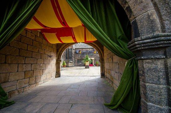 Hoghton Tower: Inner Courtyard during The King's Return
