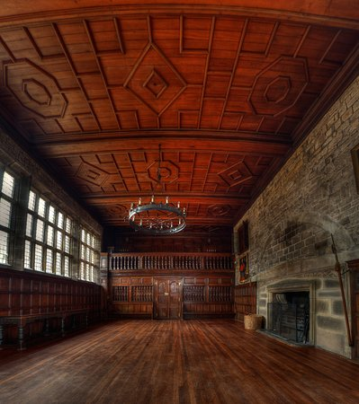 Hoghton Tower's Magnificent Banqueting Hall
