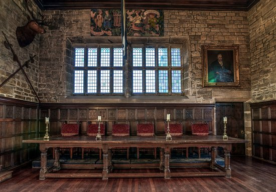 Hoghton Tower's Magnificent Banqueting Hall Table