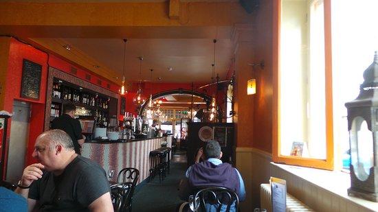 Salamanca: Dining area