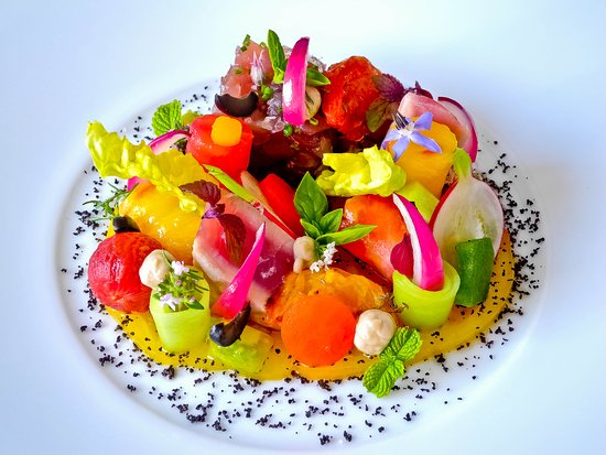 Ar Maen Hir : Salade Niçoise contemporaine