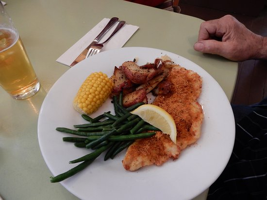 Chester Basin, Canada: Spicy pan-fried haddock