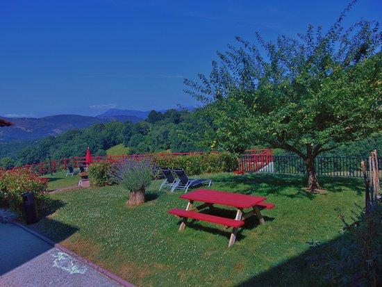 Vistas al valle desde algunas de las habitaciones picture of casa rural aldekoa ziga - Casa rural aldekoa ...