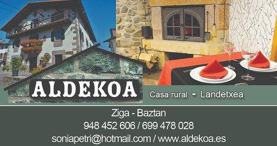 Casa rural aldekoa landetxea picture of casa rural aldekoa ziga tripadvisor - Casa rural aldekoa ...