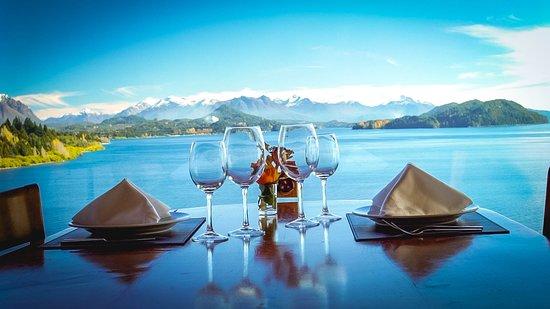 Charming Luxury Lodge & Private Spa: Vista desde el restaurante