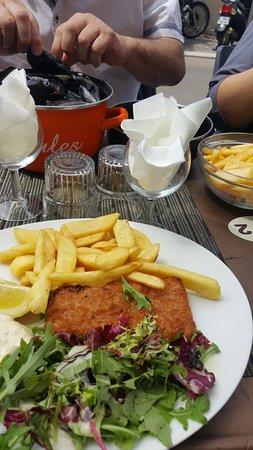 Le Perroquet: moule frites et fish and chips