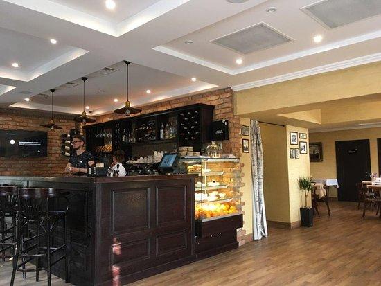 Pochayev, Ukraina: Premier Hotel Pochaiv Restaurant