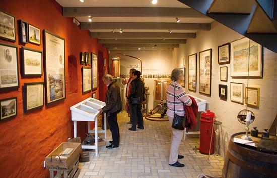 Braasch Rum & Rum Manufaktur Museum: Hier wird die Geschichte des Flensburger Rum- und Zuckerhandels gezeigt.
