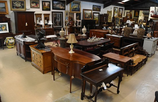 Dothan, AL : We have a huge selection of antique furniture-sideboards, chests, tables, cabinets-16,000 sq ft