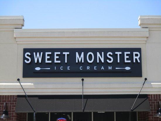 A view of Sweet Monster from the parking lot. - Picture of Sweet ...