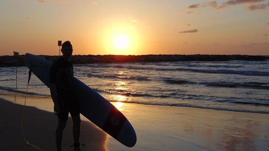 Galim surf school: Sunset