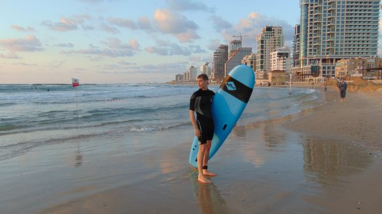 Galim surf school: First photo there