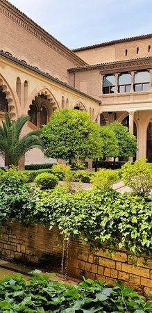 Palacio de la Aljaferia: Point de fraicheur