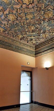 Palacio de la Aljaferia: Plafond décoré
