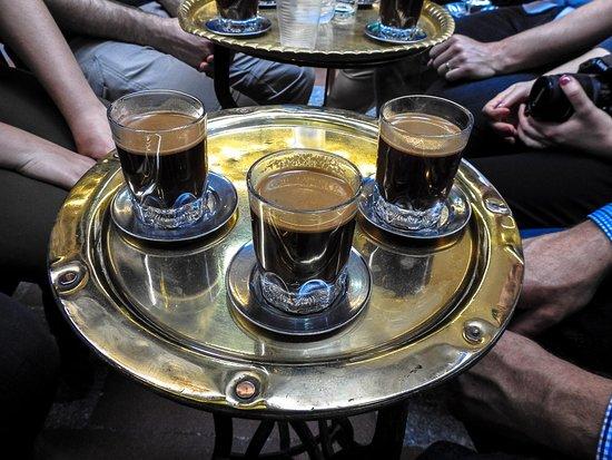 Khan Al-Khalili: Egyptian coffee