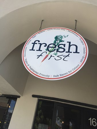 Fresh First: Outside sign