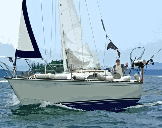 Sailing the Saanich Inlet