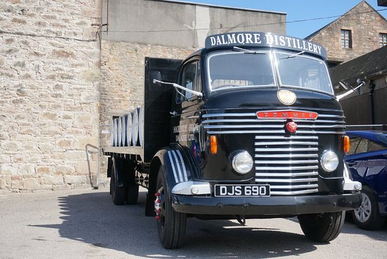 Alness, UK: Foto's buiten The Dalmore