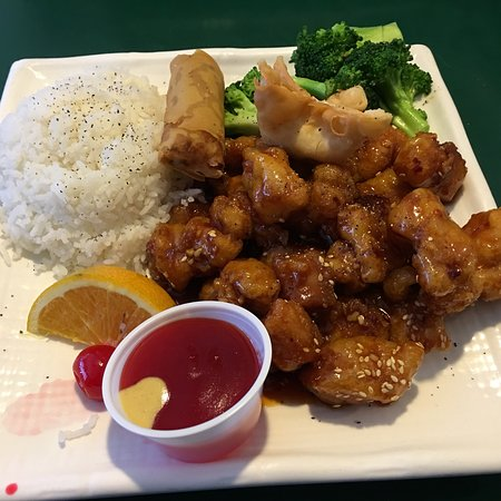 Clifton, CO: Sesame chicken.