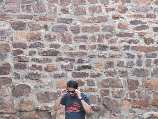 Gandikota, Hindistan: me inside fort