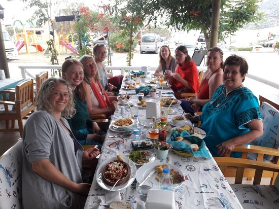 Sogut, Turkey: Captain's Table Restaurant & Pansiyon