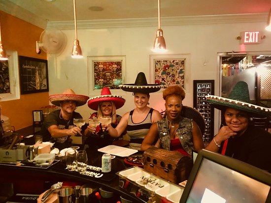 Taco Cantina Mexican: Cheers Amigos.