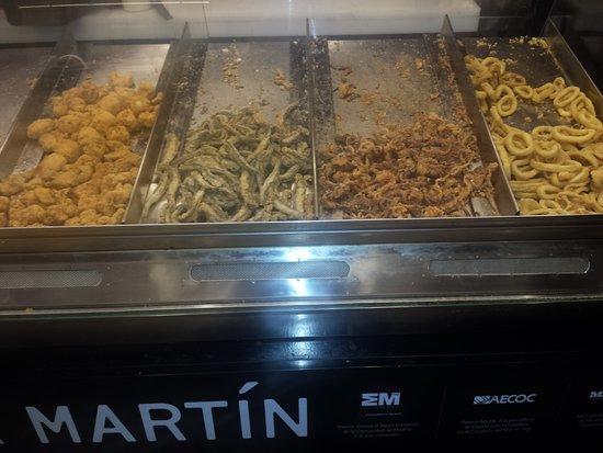 Mercado San Miguel: Calamares fritos
