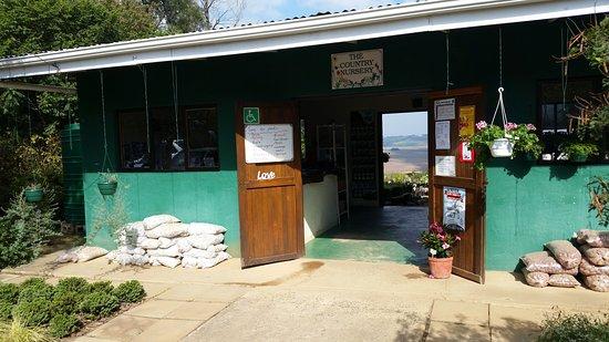 Greytown, Νότια Αφρική: Entrance to nursery/restaurant