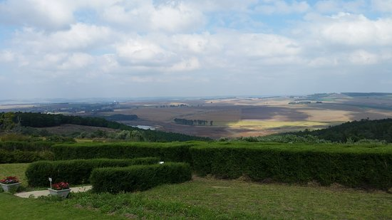 Greytown, South Africa: View from Tranquil Tea Restaurant