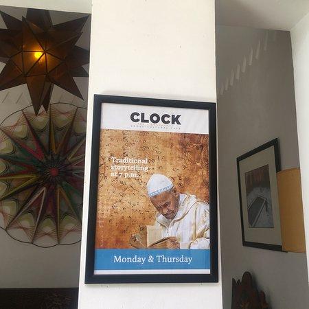 Cafe Clock Foto