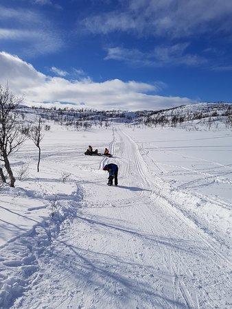 Mo i Rana, Norwegia: Raudvatnet mars 2018