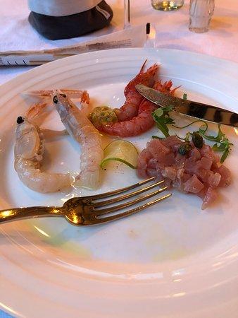 Ponzano Veneto, Italy: La foto di riferisce ad una mezza porzione di antipasto