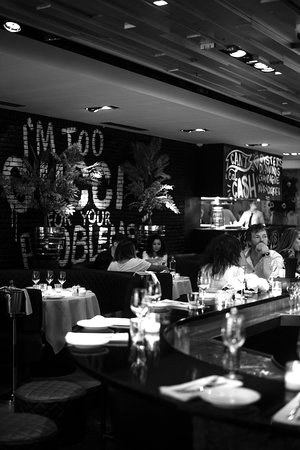 The Oyster Club: interieur