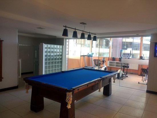 Camboriu Praia Hotel: Salão de jogos
