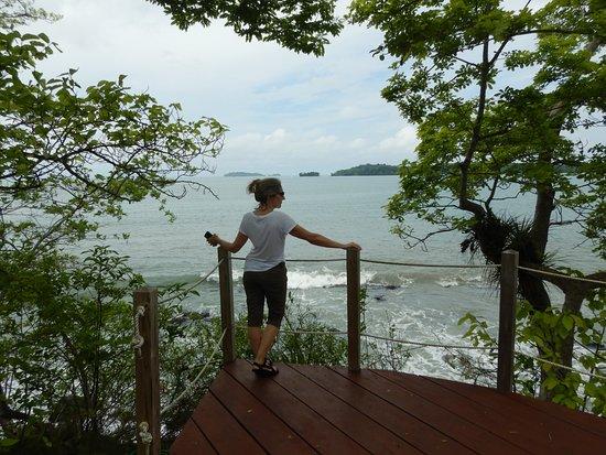 Isla Boca Brava, Panama: My private zen.