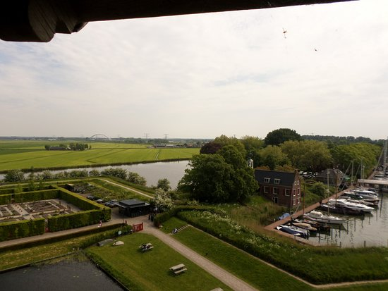 Muiderslot Kalesi: View from the castle