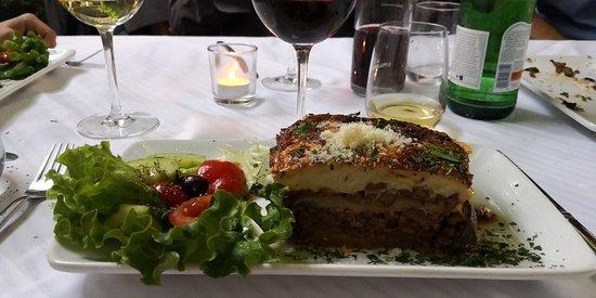 Griechische Taverne: Mousaka 🍆🍆🍆🍖