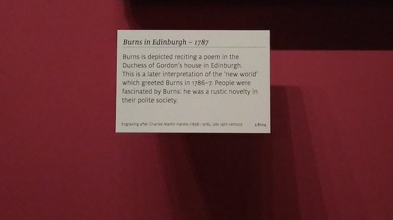 Robert Burns Birthplace Museum: Main Exhibition