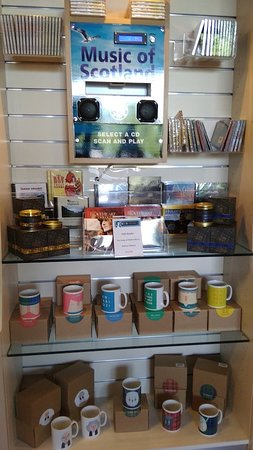 Robert Burns Birthplace Museum: Museum Shop