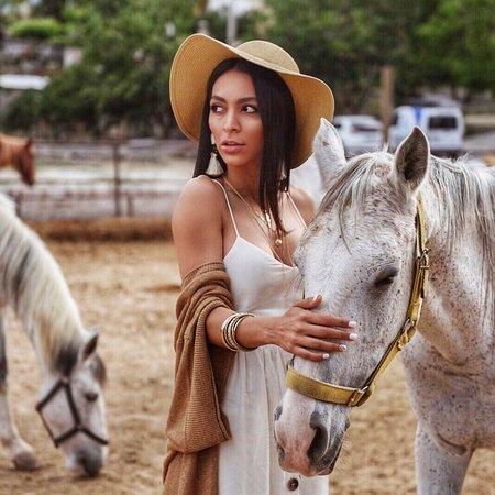 Moonlight Horse Ranch: Moonlight horse riding 🤗