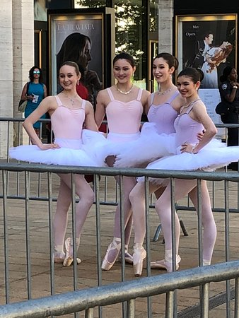 American Ballet Theatre: Beginning of the red carpet