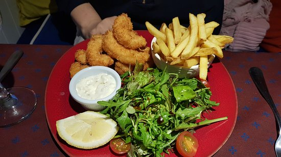 High Tide Kinsale: Scampi Main