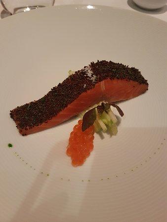 Tetsuya's: La truite confite- le meilleur plat du menu dégustation