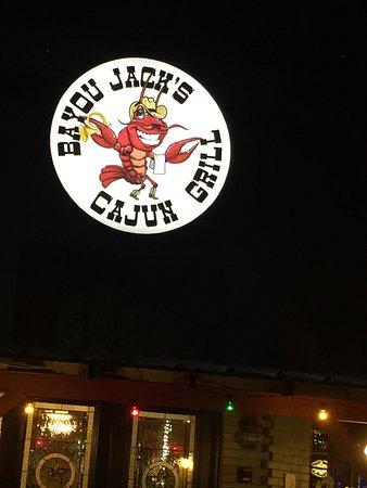 Bayou Jacks Cajun Grill entrance