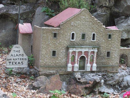 Ave Maria Grotto: The Alamo, San Antonio, Texas