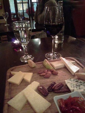 Baco: tabla de quesos