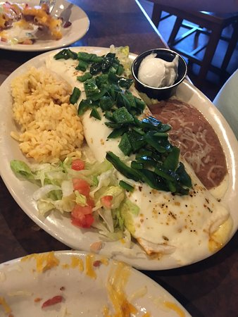 Maysville, KY: Poblano meal